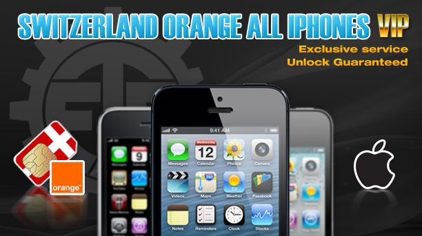 Switzerland Orange All iPhones VIP