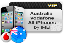 Australia Vodafone All iPhones VIP