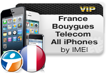 France Bouygues Telecom All iPhones VIP