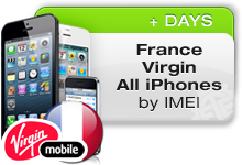 France Virgin All iPhones