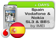 Spain Vodafone Nokia SL3 | BB5