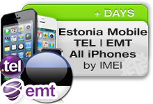 Estonia Mobile Tel|EMT All iPhones
