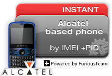 ALCATEL BASED PHONES