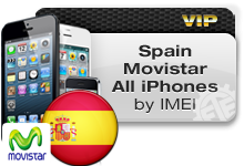 Spain Movistar All iPhones VIP