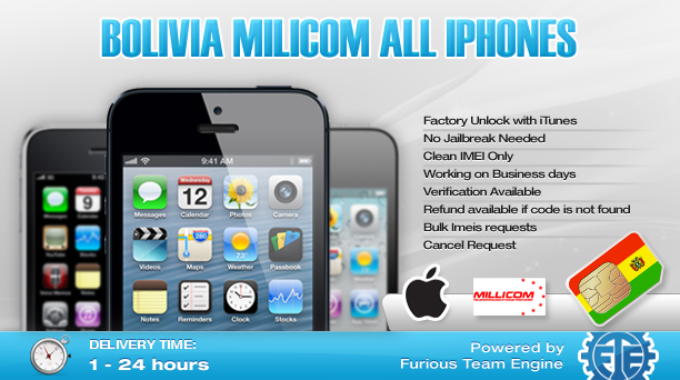 Bolivia Millicom All iPhones