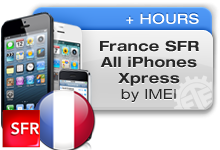 France SFR All iPhones Xpress