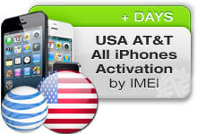 USA ATT iPhones Activation