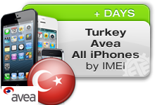 Turkey Avea All iPhones
