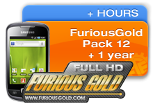 FuriousGold PACK 12 + 1 YEAR