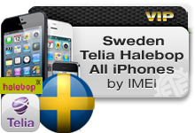Sweden Telia | Halebop All iPhones VIP