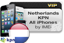 Netherlands KPN All iPhones VIP