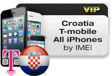 Croatia T-Mobile all iPhones VIP
