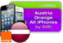 Austria Orange all iPhones