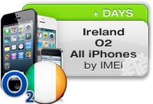 Ireland O2 All iPhones