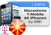 Macedonia T-Mobile All iPhones