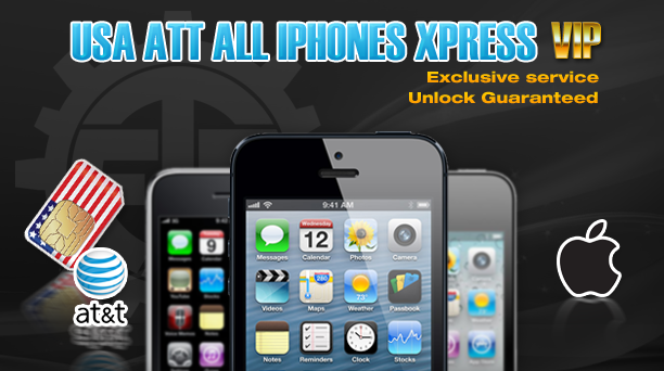 USA AT&T All iPhones Express
