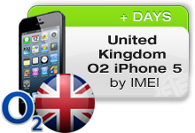 UK O2 iPhone 5