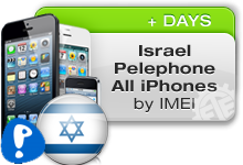 Israel Pelephone All iPhones