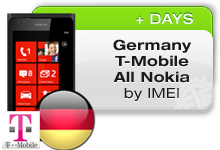 Germany T-Mobile All Nokia