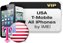 USA T-Mobile all iPhones VIP