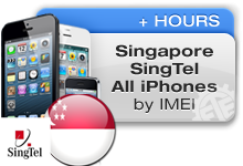 Singapore SingTel All iPhones