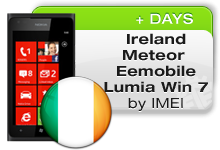 Ireland Meteor | EEMobile Nokia Lumia 7